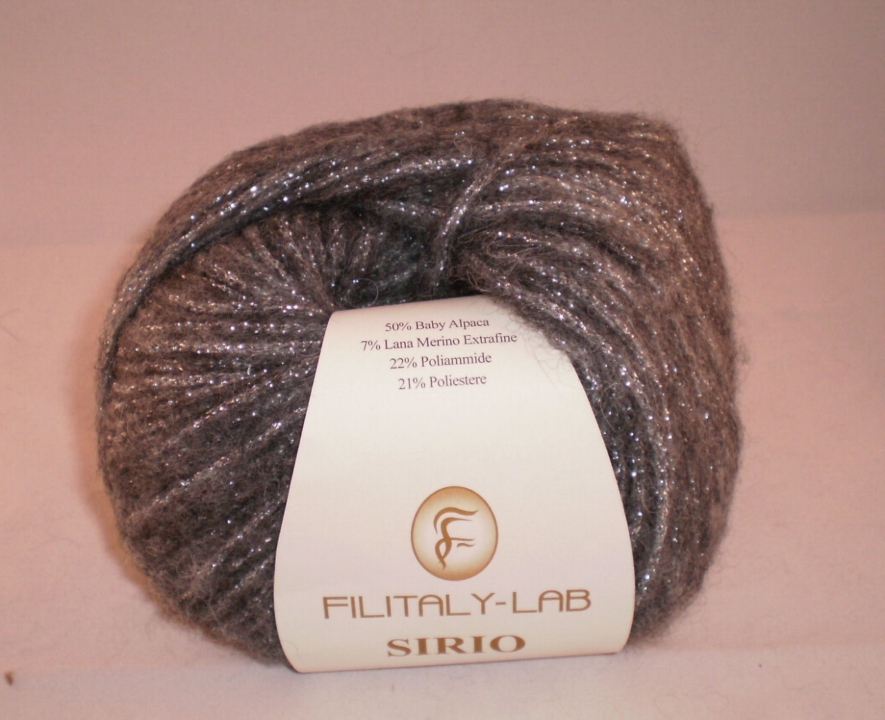 Sirio by Filitaly-Lab in Shade 20312 (dark grey and silver)