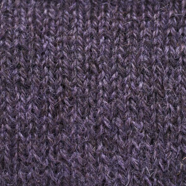 Hebridean/Mohair Purple over-dyed 4-ply knitting yarn