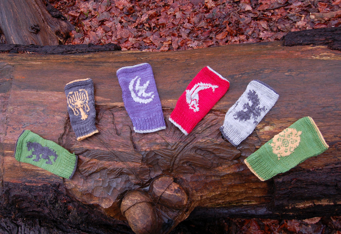 Game of Thrones Inspired Mitts: 10 patterns in ebook
