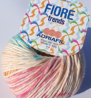 Fiore yarn from Adriafil