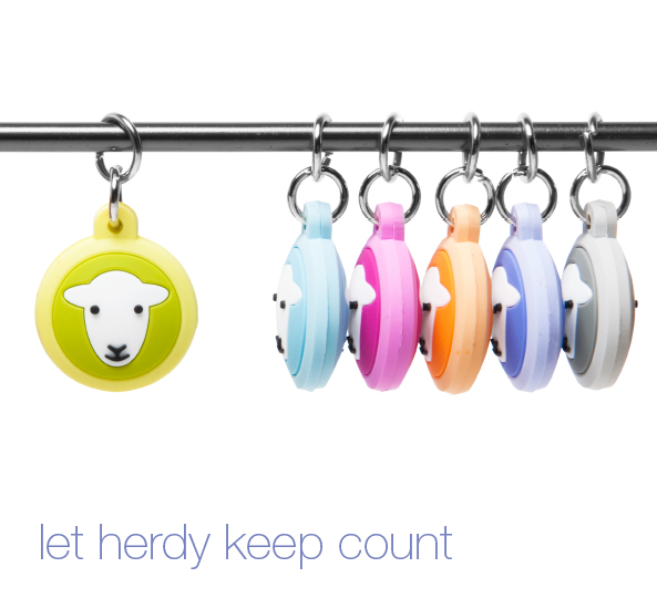Set of 6 Herdy Stitch Markers