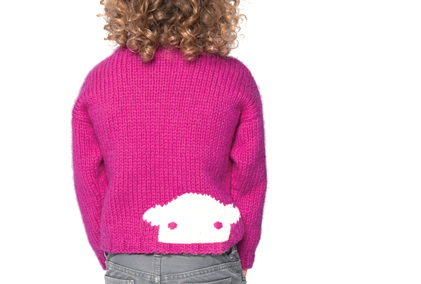 Herdy Junior Jumper and Beanie Hat knitting pattern