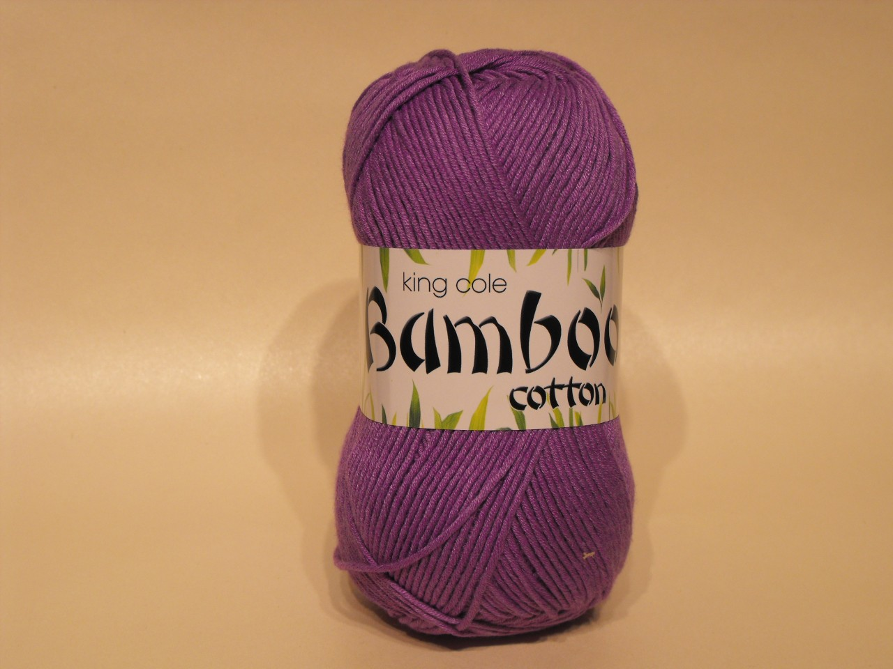 King Cole Bamboo Cotton Double Knit yarn in Violet