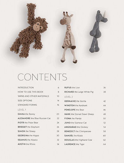 Edward's Menagerie Crochet Book by Kerry Lord