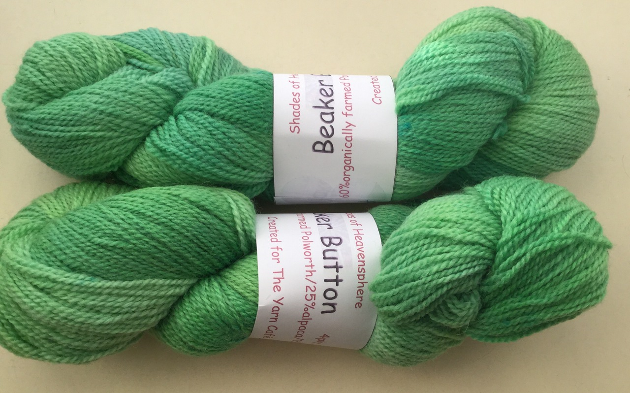 Heavensphere Luxury sock yarn in Living Rainforest