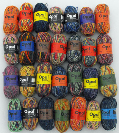 Opal Mini Ball of Sock Yarn - 10g