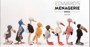 Edward's Menagerie: Birds,  Crochet Book by Kerry Lord
