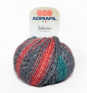 Zebrino yarn from Adriafil