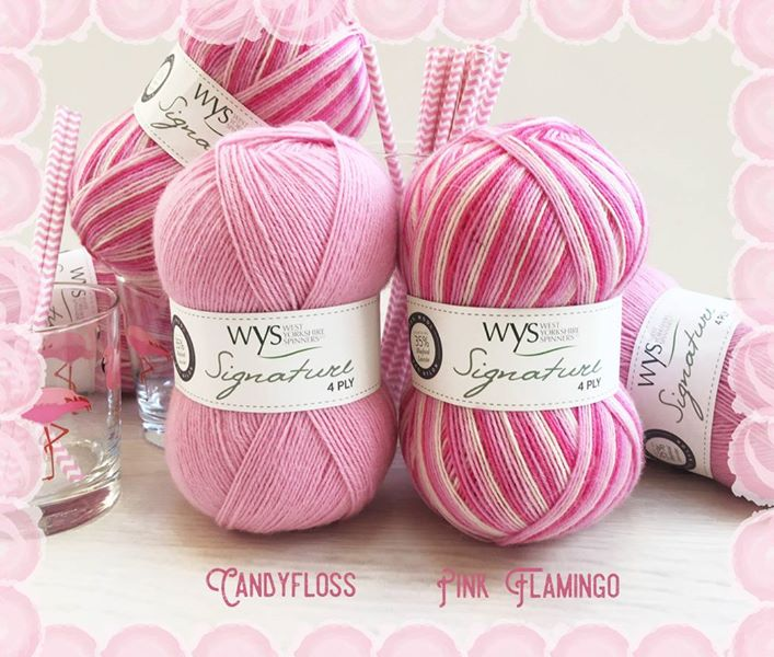 Signature 4-ply Cocktail from West Yorkshire Spinners