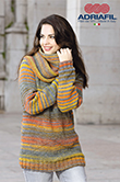 Morgana Sweater pattern with Snood D&R no. 59