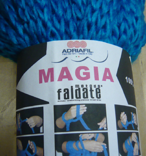"Magia ""Faidate"" yarn from Adriafil"