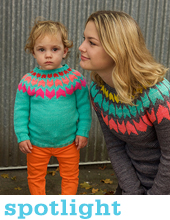 Mad Colour - bright bold modern knits by Alexa Ludeman and Emily Wessel, Tin Can Knits