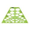Alvin Rapidesign Isometric Ellipses Template, 38
