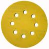 "Norton 5"" Eight-Hole Hook & Loop Paper Sanding Discs, 220 Grit, Qty. 25"