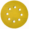 "Norton 5"" Eight-Hole Hook & Loop Paper Sanding Discs, 80 Grit, Qty. 25"