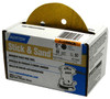 "Norton Open Coat Abrasive Discs 5"" Adhesive, 5 Hole, 80 Grit, 50/roll"