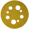 "Norton Open Coat Abrasive Discs 5"" Hook & Loop,5 & 8 Hole, 80 Grit, 25"