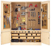"""Diversified Woodcrafts 60"""" General Shop Tool Cabinet Only"""