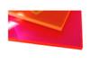 "Midland Acrylic Sheet, 1/8"" x 12"" x 24"", Orange"