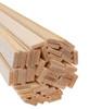 "Bud Nosen Balsa Wood Strips, 1/8"" x 1/2"" x 36"", 50/pkg."