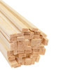 "Bud Nosen Balsa Wood Strips, 1/8"" x 1/4"" x 36"", 50/pkg."