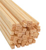 "Bud Nosen Balsa Wood Strips, 1/8"" x 1/8"" x 36"", 50/pkg."