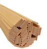 "Bud Nosen Basswood Strips, 1/8"" x 3/4"" x 24"", 50/pkg."