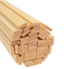 "Bud Nosen Basswood Strips, 1/8"" x 3/8"" x 24"", 50/pkg."