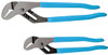 Channellock Straight Jaw Pliers 2-Piece Set