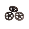 ABS Front Dragster Wheels, Black