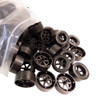 ABS Rear Dragster Wheels, Black
