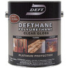 Deft Clear Finish Polyurethane, Satin, Gal.