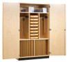 Diversified Woodcrafts Drafting Supply Cabinet 36 Students with Tools