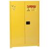 Eagle Flammable Liquid Cabinet, 2-Door, Manual Close, 45 Gal.