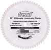 "Freud Sliding Miter LU91M CT Crosscut Saw Blade 10"" x 60T"