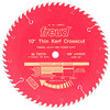 "Freud Thin Kerf LU88R CT Crosscut Saw Blade, 10"" x 60T"
