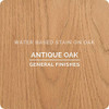 General Finishes Water-based Wood Stain, Antique Oak, Qt.