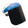 Sellstrom 390 Series Face Shield, Single Crown Ratcheting Headgear with Shade 5 IR Window