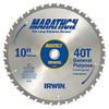 """Irwin Marathon Saw Blade 10"""" x 40T"""
