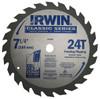 "Irwin Carbide-tipped Circular Saw Blade, Classic Series, 7-1/4"", 40 TPI"