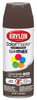 Krylon ColorMaster Paint and Primer, Gloss, Leather Brown