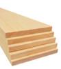 """Bud Nosen Balsa Wood Sheets, 3/8"""" x 4"""" x 36"""", 5/pkg."""
