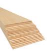 """Bud Nosen Balsa Wood Sheets,  1/16"""" x 4"""" x 36"""", 20/pkg."""