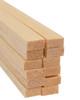 "Bud Nosen Balsa Wood Strips, 1/4"" x 1/2"" x 36"", 12/pkg."