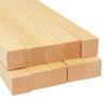 "Bud Nosen Basswood Strips, 1/2"" x 1/2"" x 24"", 10/pkg."