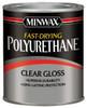 Minwax Fast-Drying Polyurethane, Clear Gloss, Gal.
