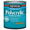 Minwax Polycrylic Water-based Finish, Semi-Gloss, Qt.