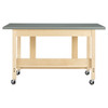 Diversified Woodcrafts Mobile Glue & Stain Bench