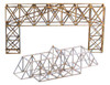 Midwest Products Model Bridge Design Class Pack of 24, Basswood