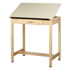 Diversified Woodcrafts One Piece Adjustable Drafting Table